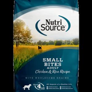 """נוטריסורס לכלבים בוגרים מגזע קטן על בסיס עוף ואורז 2.3 ק""""ג אריזה קדמית חדשה"""