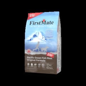"""פירסט מייט מיני ללא דגן דגי אוקיינוס לכל שלבי החיים לכלבים 2.3 ק""""ג"""
